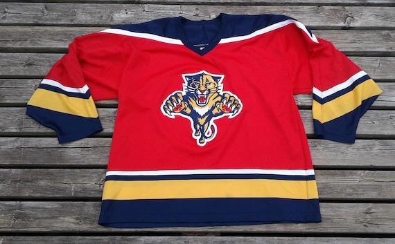 16145255e Vintage 90 s Florida Panthers NHL hockey jersey CCM Maska