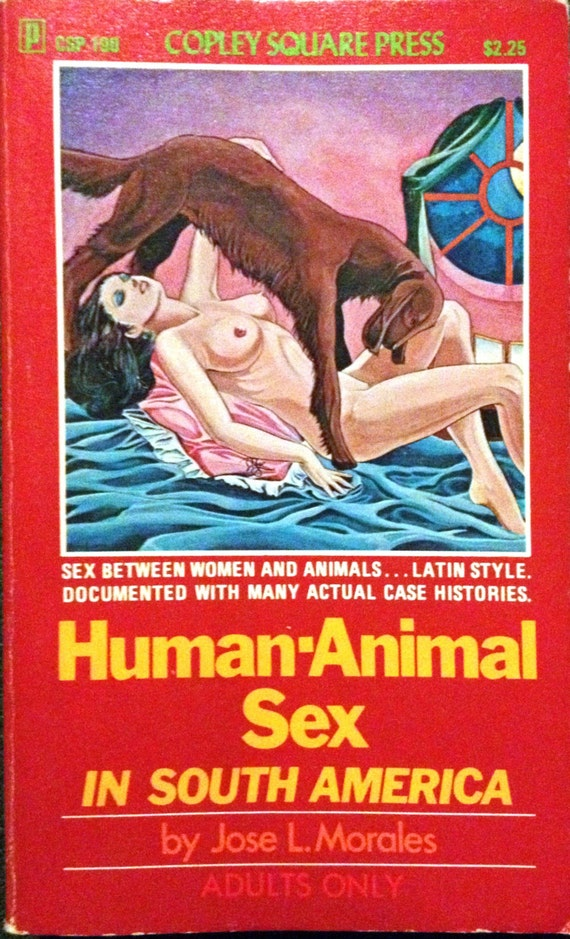 Items similar to MATURE Human-Animal Sex In South America vintage erotic  fiction on Etsy