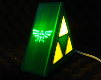 The Legend Of Zelda   Triforce Lamp Table