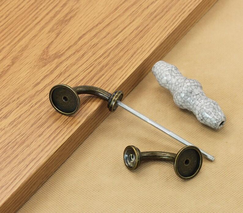 5/'/'Ceramic Dresser Pulls Drawer Pull Handles Knobs Porcelain  Cabinet Door Pulls konbs  Furniture Hardware Ceramic Dresser handle