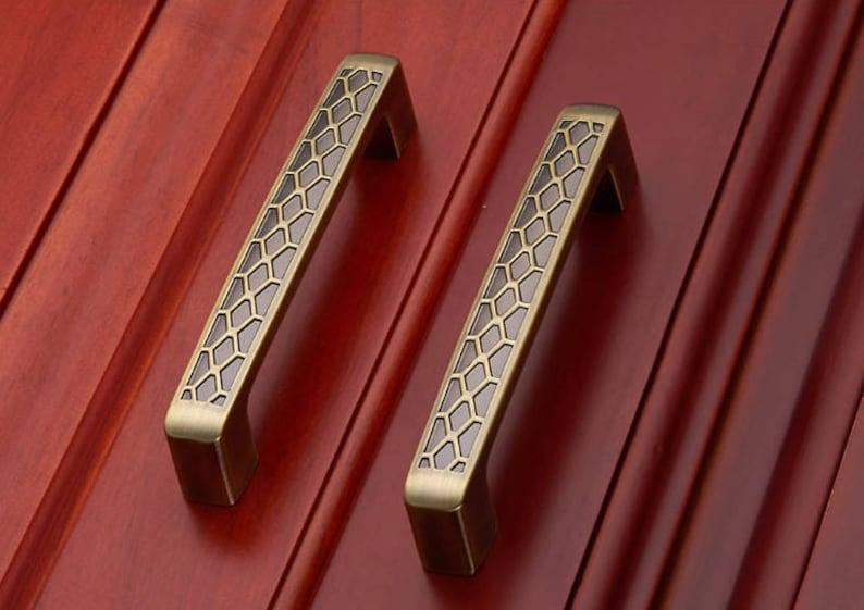 3.75/'/'5/'/'Dresser Pulls Drawer Pull Porcelain  Cabinet Door Pulls konbs  Furniture Hardware Ceramic Dresser handle