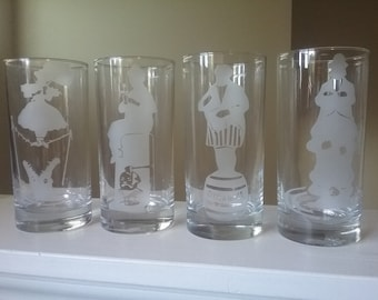 HAUNTED MANSION- Drinking glasses....New!!!!!!!