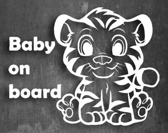 Baby On Board - Multiple sizes and colors
