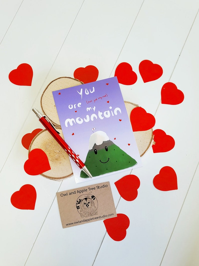 You are my Mountain  postcard  valentine's day  love  image 0