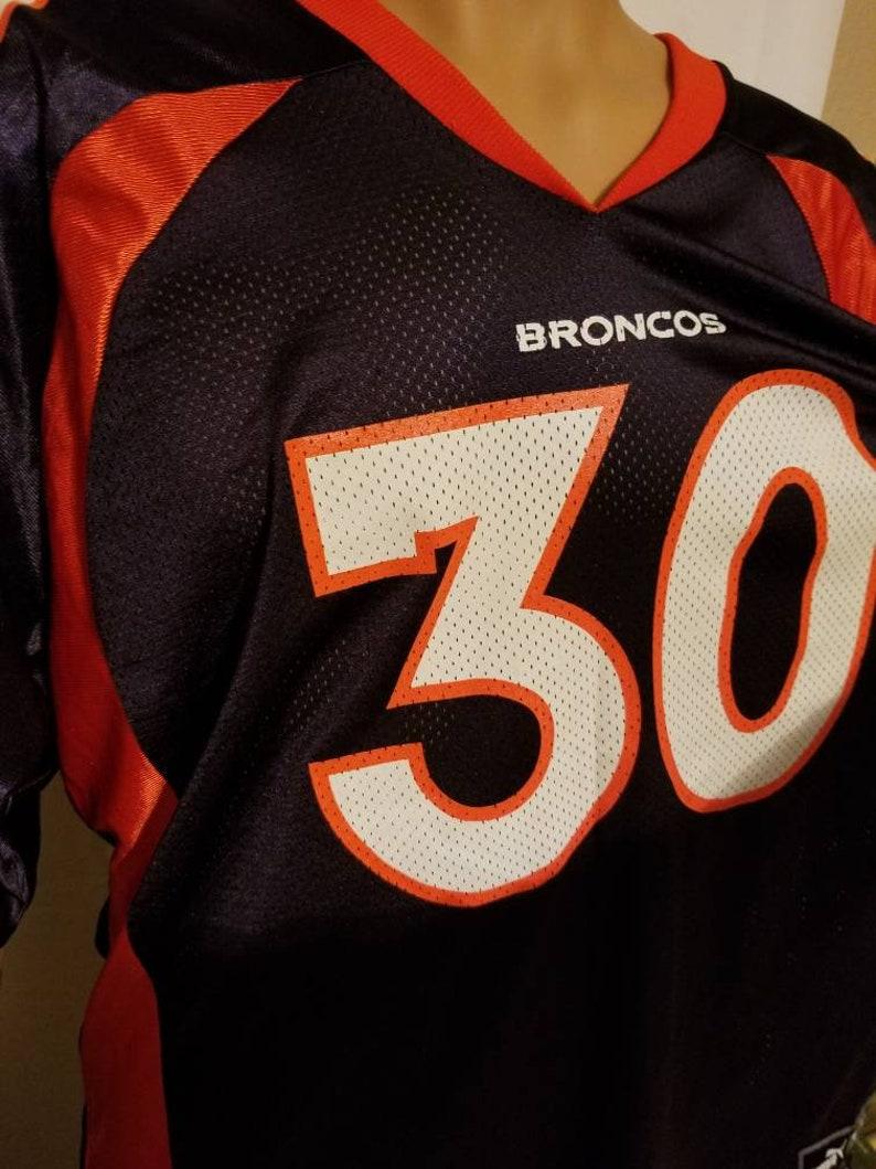 more photos 44486 8cbf6 Denver Broncos Vintage Terrell Davis Football Jersey NFL Hall of Famer Navy  Orange Mens Size XL Made in USA Puma excellent used condition