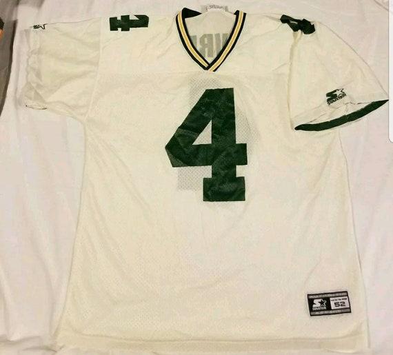 Brett Favre 1995 Starter Jersey Football 90s 1990s White and  5142d3d58