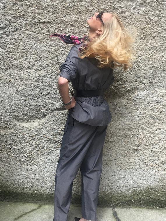 Vintage 90s Karl Lagerfeld Trouser Suit Avantgards