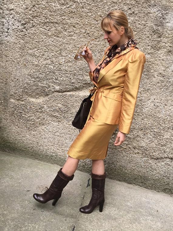 Vintage Kenzo silk Costume silk ensemble Trendstyl