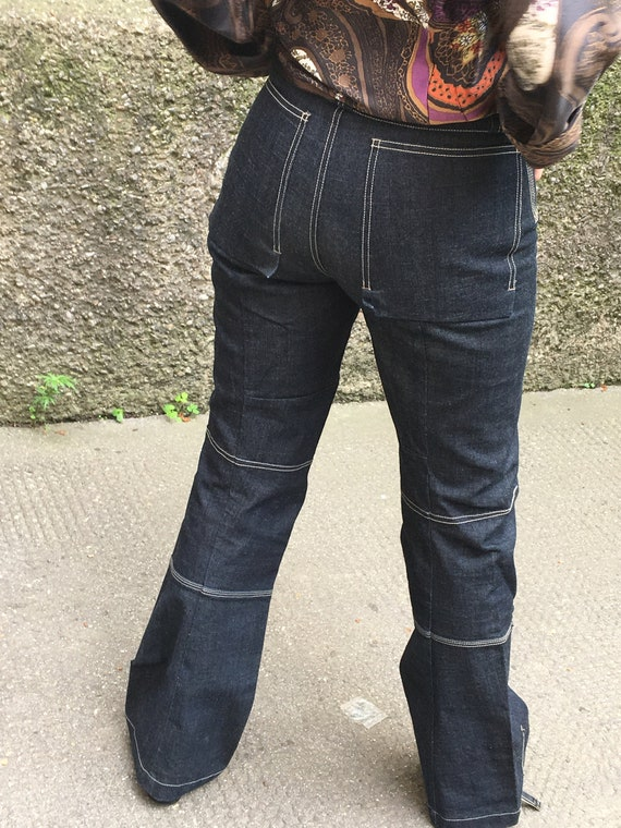 True Vintage Le Jean Marithe And Francois Girbaud Jeans Dark Etsy