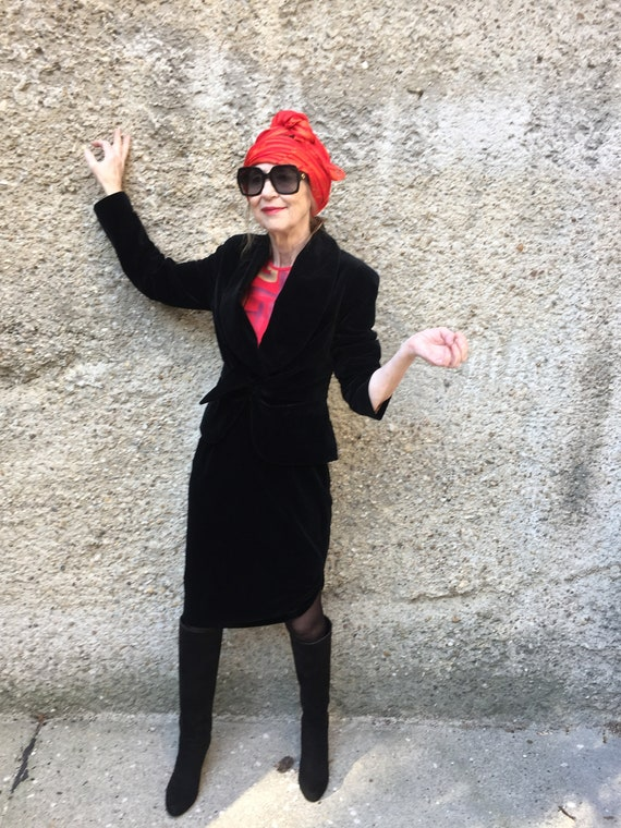 Vintage Vivienne Westwood suit blazer & skirt ense