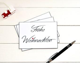 Postcard Merry Christmas - Christmas, Greeting Card, Gift Card, Christmas Card, Christmas, Santa Claus