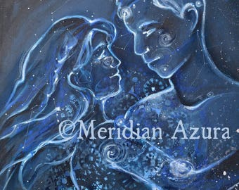 Soul Mate/ Star Child/ Lovers/ Constellation 8x 10 print