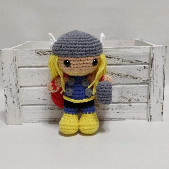amigurumi, crochet, crochet doll, amigurumi doll, Thor, Amigurumi ... | 570x570