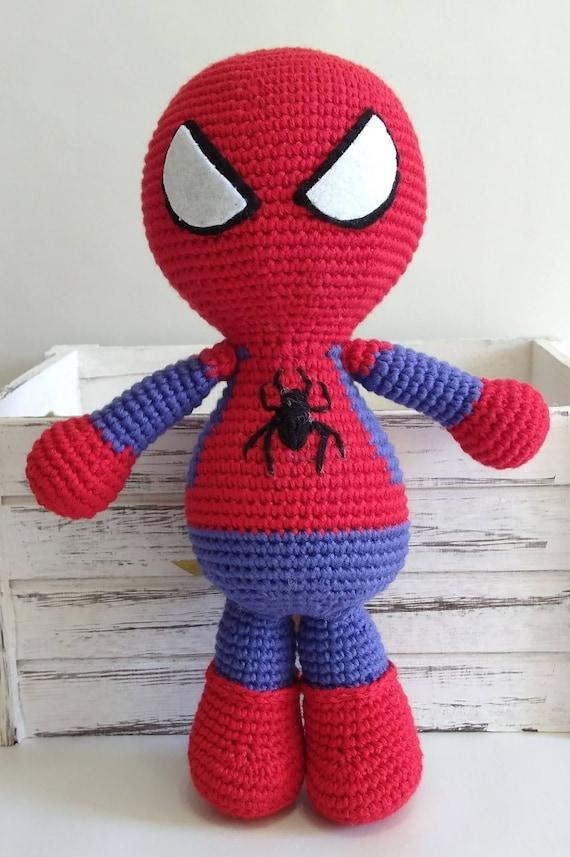 Iron Man Tony Stark crochet amigurumi chibi plush doll Marvel ... | 857x570