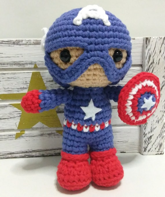 The Avengers Amigurumi Dolls inspired by Marvel Comics // Marvel ... | 681x570