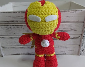 Ironman Amigurumi Marvel The Avengers