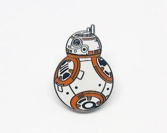 Star Wars BB-8 Droid Enamel Pin Badge   Episode 9 XI Film   Novelty Gift Cute   Rise of Skywalker