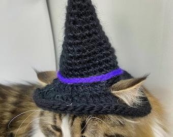 Cat Witch Hat crochet