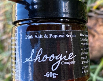 Pink Salt & Papaya Enzyme Scrub