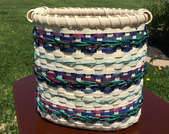 Jewel-tone Waste Paper Basket