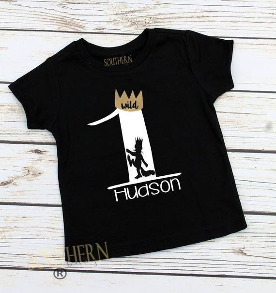 Wild One Birthday Where The Things Are Shirt