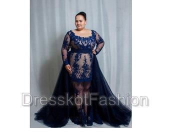 Black Wedding Dress Black Lace Wedding Gown Weddng Dress Etsy