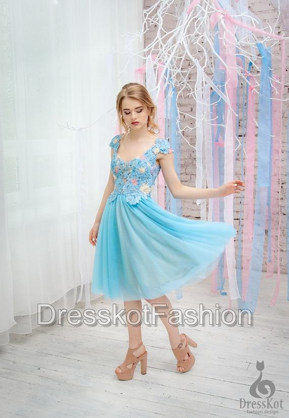 Short wedding dress Bridesmaid dress