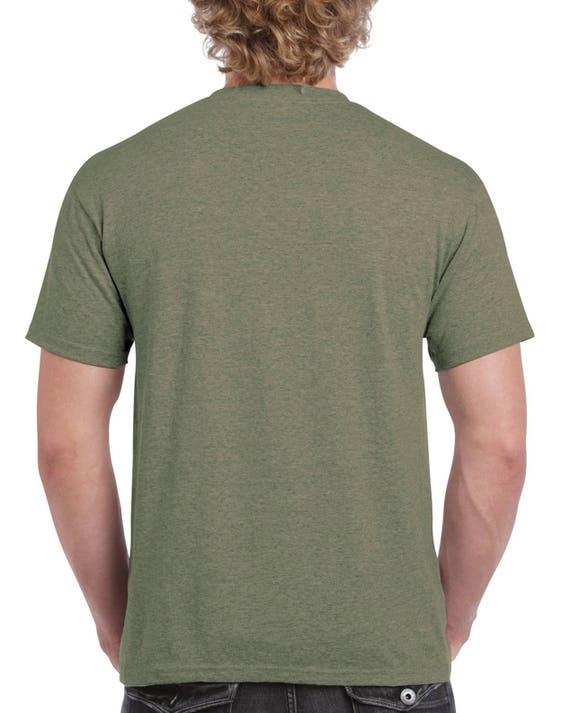 gildan military green
