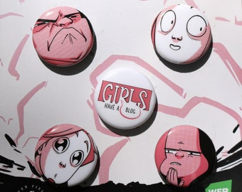 Girls Have A Blog - Button Pack