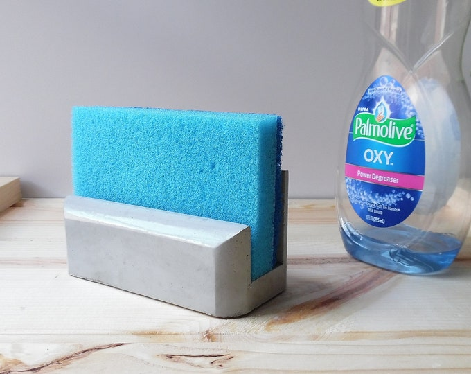 Concrete Sponge Holder