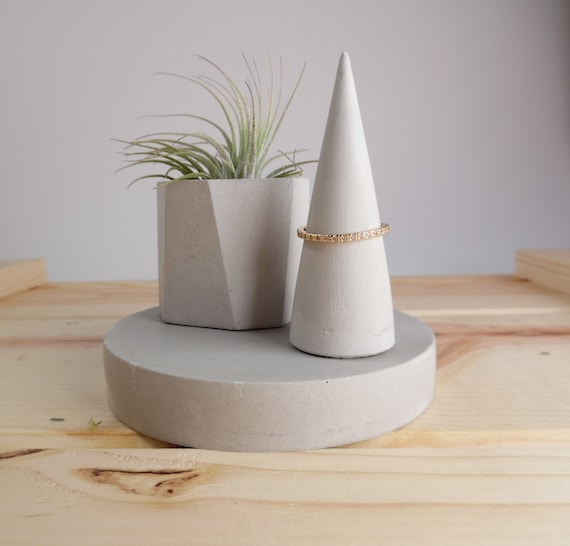 Plant Pot + Ring Holder Set