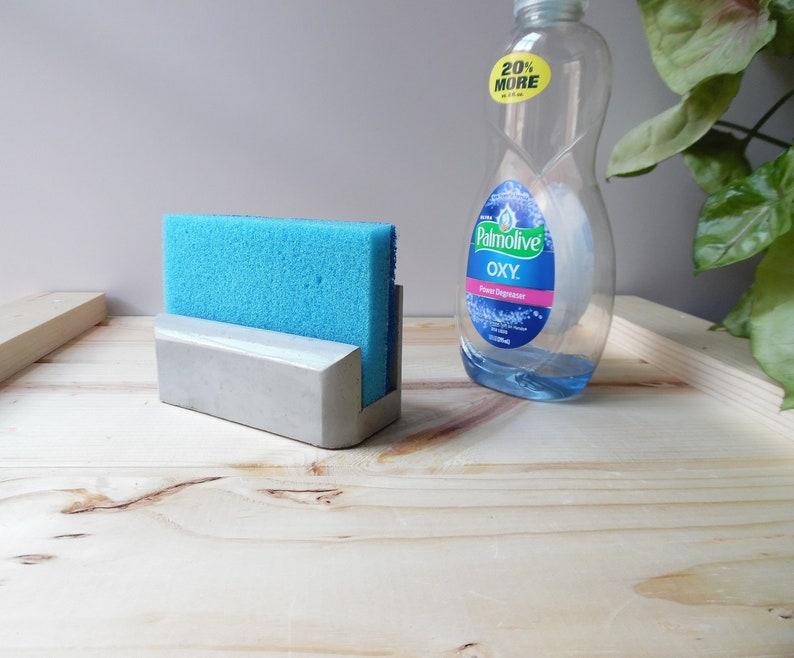 Kitchen Sink Sponge Holder.Concrete Sponge Holder Sponge Holder Sink Sponge Holder Etsy