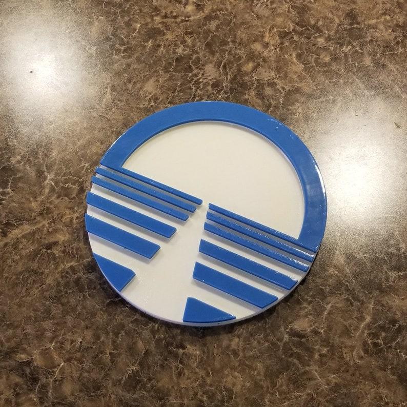 Horizons Entranceway Plaque Inspired Sign  Disney Epcot Prop image 0