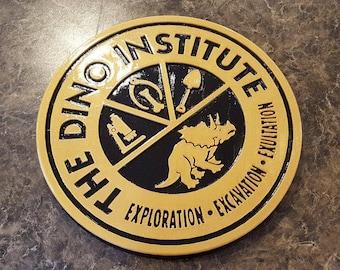DINOSAUR Dinoland U.S.A. Dino Institute Inspired Logo Animal Kingdom Sign Replica