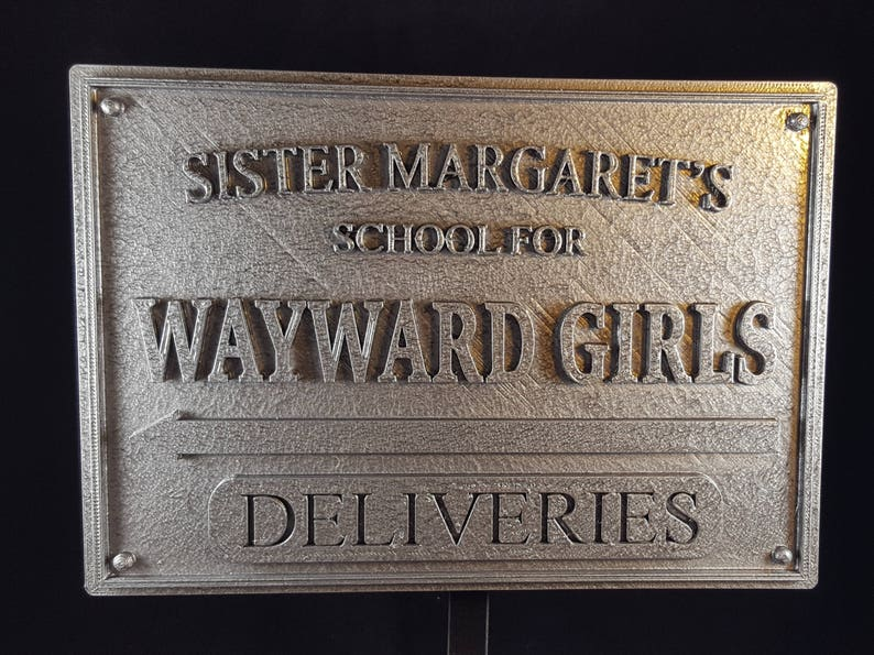 Deadpool Inspired Sister Margaret's School for Wayward image 0