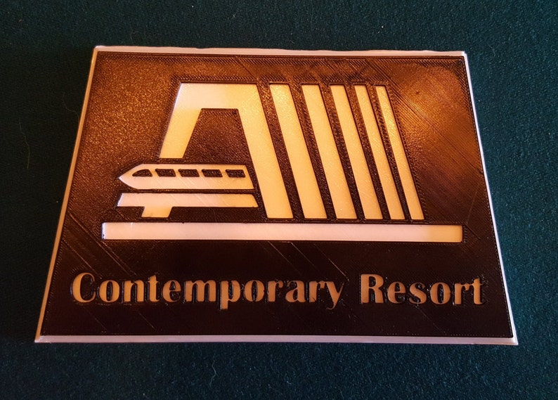 Contemporary Themed Sign / Plauqe  Custom Lettering Available image 0