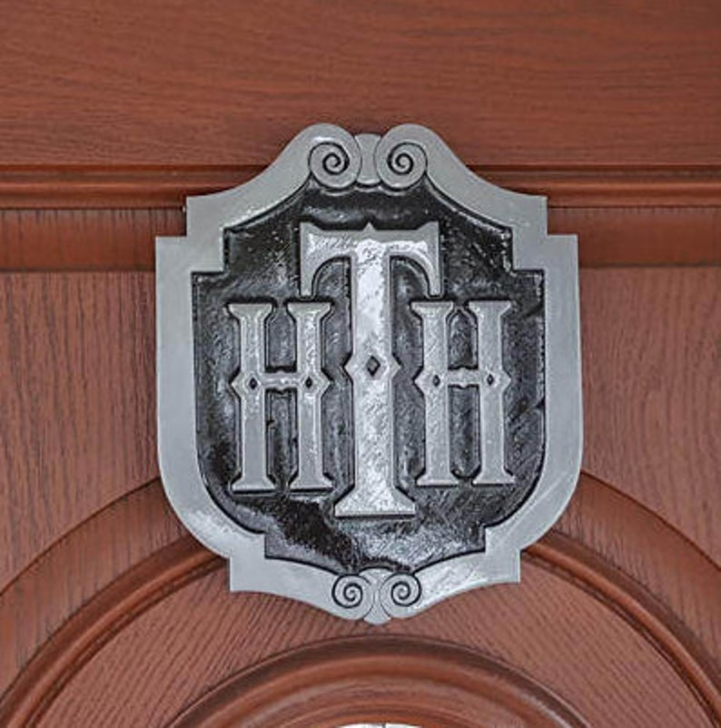Tower of Terror Inspired Sign / Plaque Replica  Disney Theme image 0
