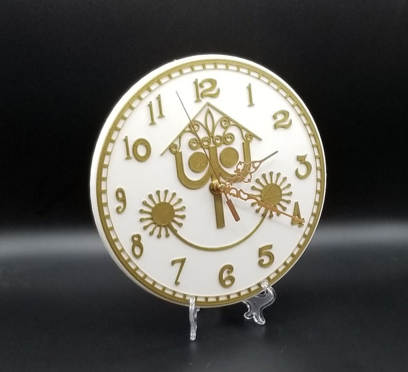 It's a Small World Inspired Wall Clock Disney Prop image 0