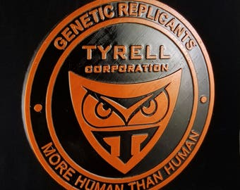 Blade Runner Tyrell Corporation Logo Inspired Plaque Prop Replica (Home Decor' / Plaque)
