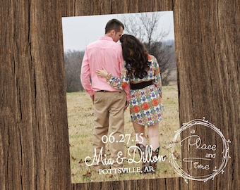 Printable Save the Date