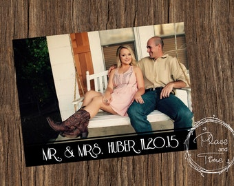 Printable Wedding Announcement