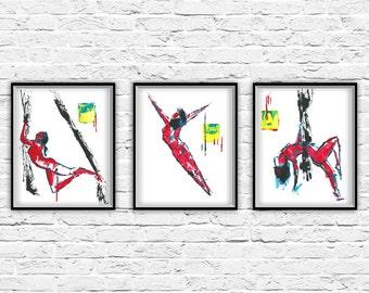 Modern Wall Art Prints, Modern Art Print, Contemporary Wall Art, Contemporary Art Abstract Art Print, Abstract Art Poster, Wall Art Set of 3