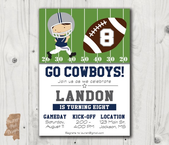 "Dallas Cowboys Poster Banner 30/"" x 8.5/"" Personalized Custom Name Printing"
