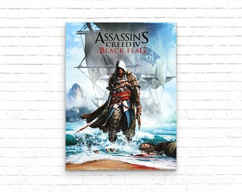 Assassins Creed Valhalla 20x37 Vinyl Poster 3 Free 13x19 Gloss Posters