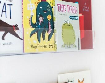 PEEKABOO SHELF - Clear Acrylic Bookshelf (set of 2)