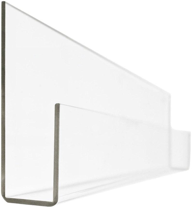 PEEKABOO SHELF  Clear Acrylic Bookshelf set of 2 image 0