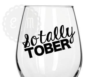 Sotally Tober 21 oz. stemless wine glass