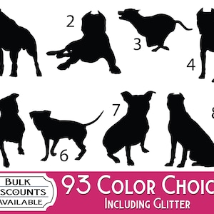 school supplies or any hard surface planners cups Basset Hound Silhouette Dog Decals Dog Sticker for tumblers bottles