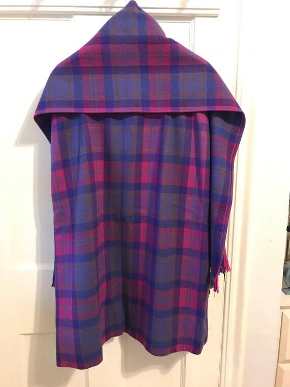 Vintage Pendleton 100% Wool Tartan Skirt and Scarf - image 2