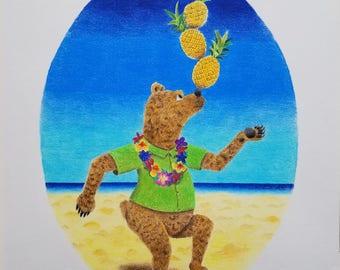 Pineapple Bear (Original)